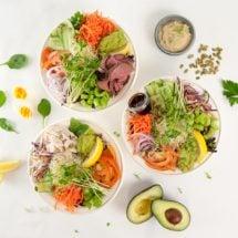 Salads & Poke Bowls