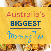 Australia's Biggest Morning Tea Specials