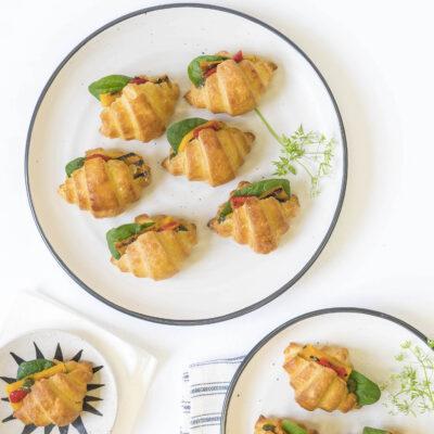 Gluten free mini croissants