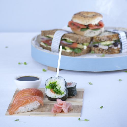 Sushi Mixed Rolls