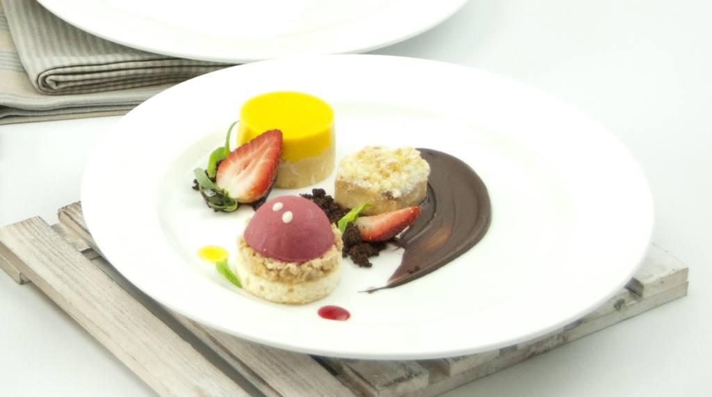 Desserts Tasting Plate