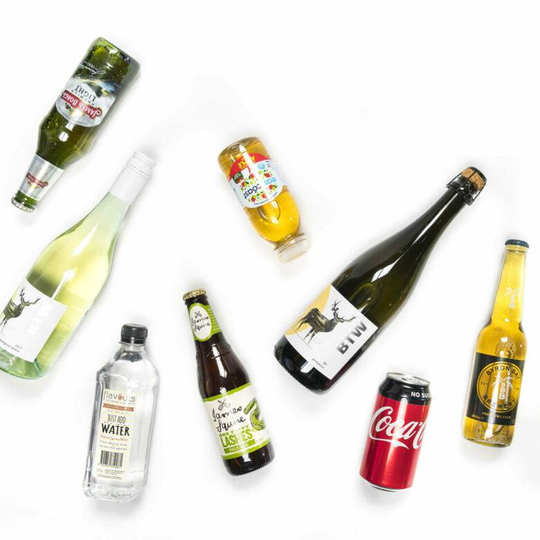 Beverage Package – Based on 3.5 alcoholic drinks per person