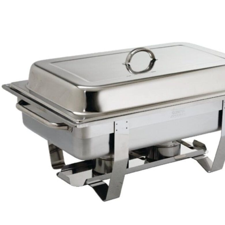 Stainless steel chafing dishes (fuel included)