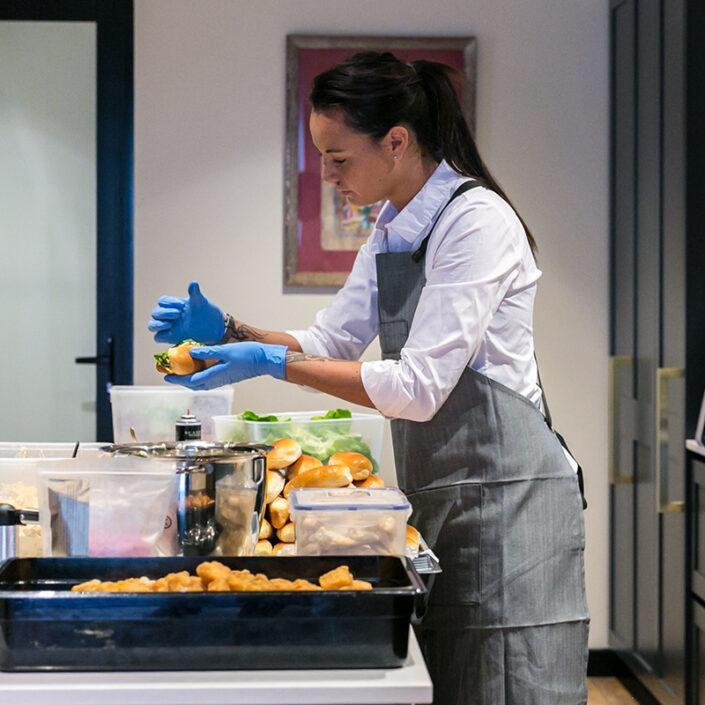 Cook & serve waiter