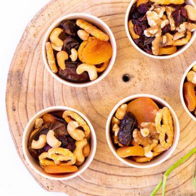 Dried fruit & nut cups