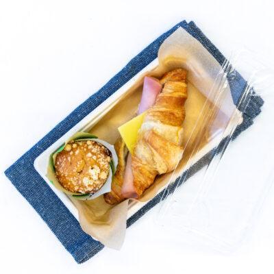 Duo pack I – Ham & cheese croissant + Mini muffin