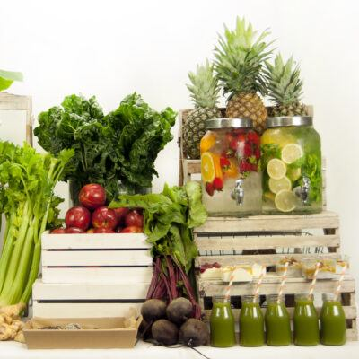 Infused Water & Juice bar