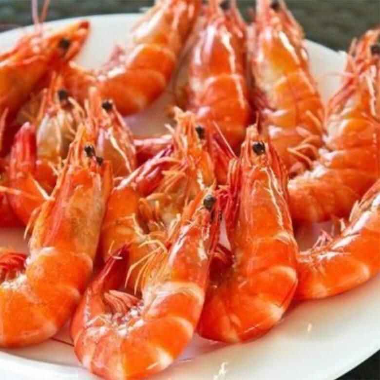 Fresh king prawns, lemon & aioli