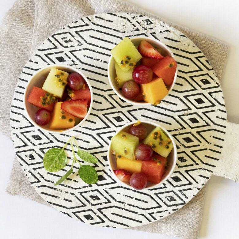 Fruit salad cups