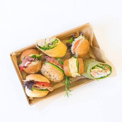 Vegetarian race day sandwiches