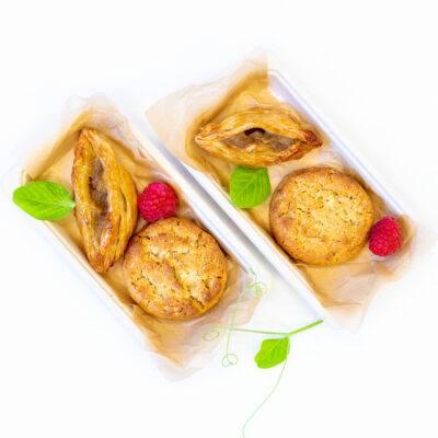 Duo pack J – Muesli cookie + Apple & cinnamon pastry taco