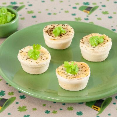 Petite Pies, Mushy Peas
