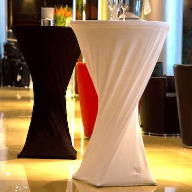 Lycra bar table sleeve