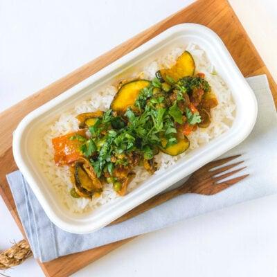 Individual gourmet meal - Vegetarian option