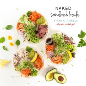 Naked Sandwich Bowls
