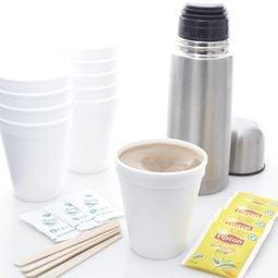 Freshly Brewed Tea + Coffee - Disposable