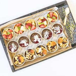 Nourising Flavours Vegan Morning Tea Platter