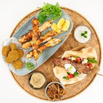 Souvlaki BBQ Lunch Kit