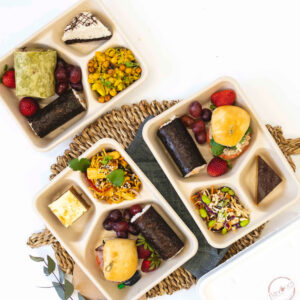 Large range of individual lunch options