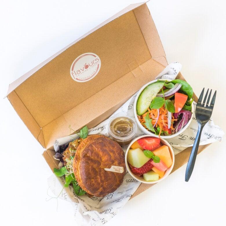 Vegan & gluten free lunch box