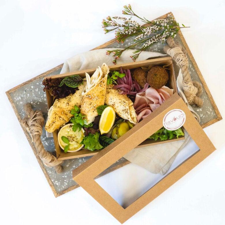 Mediterranean mezze box