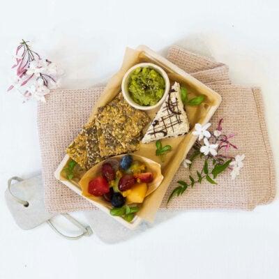 Vegan & gluten free well being breakfast box