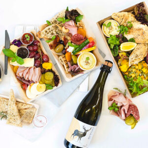 Individual or Shared Picnic options, including grazing platters and beverages